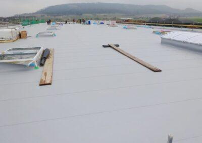 Betriebserweiterung eines Produktionsgebäudes der Firma INTORQ