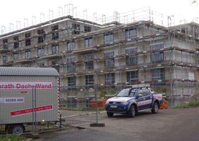 Neubau eines Pflegezentrums und Wohnungen