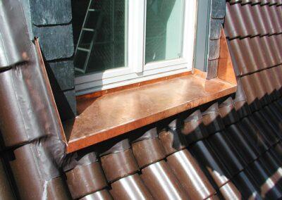 Fensterbank aus Kupferblech in Hameln