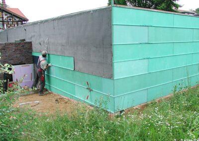 Fassadenbekleidung des Museums Junkerhaus in Lemgo mit vorbewitterten Kupferscharen