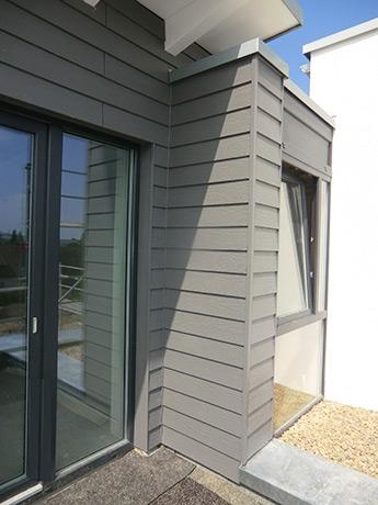Fassadenbekleidung mit Cedral Fassadenpaneele in Lemgo