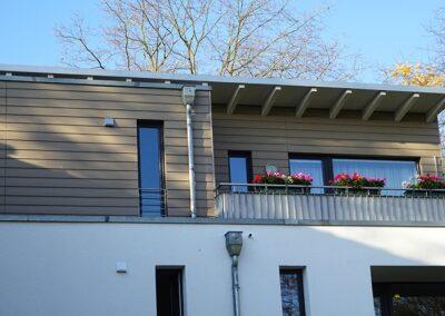 Fassadenbekleidung mit Eternit Cedral Fassadenpaneele in Lemgo