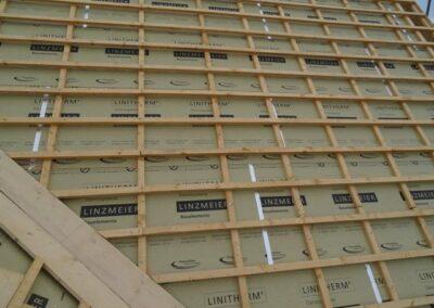 PUR Aufdachdämmung der Firma Linzmeier