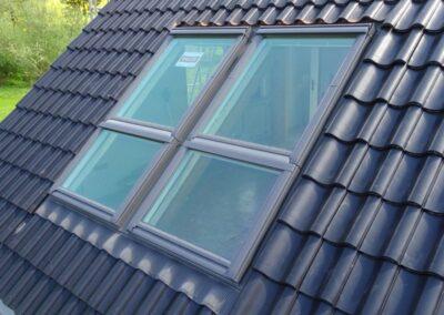 Velux Systemlösung Quartett bei einer Dachsanierung in Lemgo