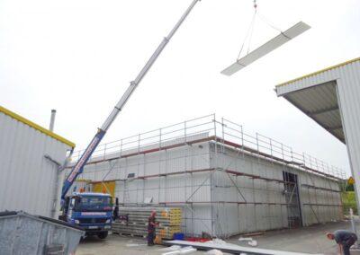 Dacheindeckung mit Isodachelementen im Extertal