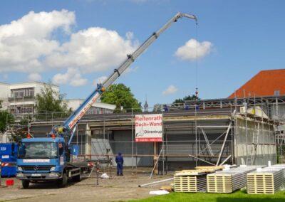Sanierung einer Fahrzeughalle in Lemgo