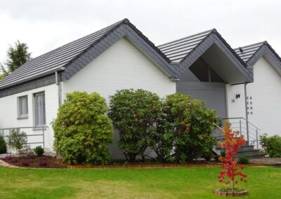 Energetische Dachsanierung eines Wohnhauses