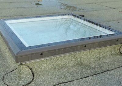 Velux Flachdach-Fenster als fest verglaste Ausführung